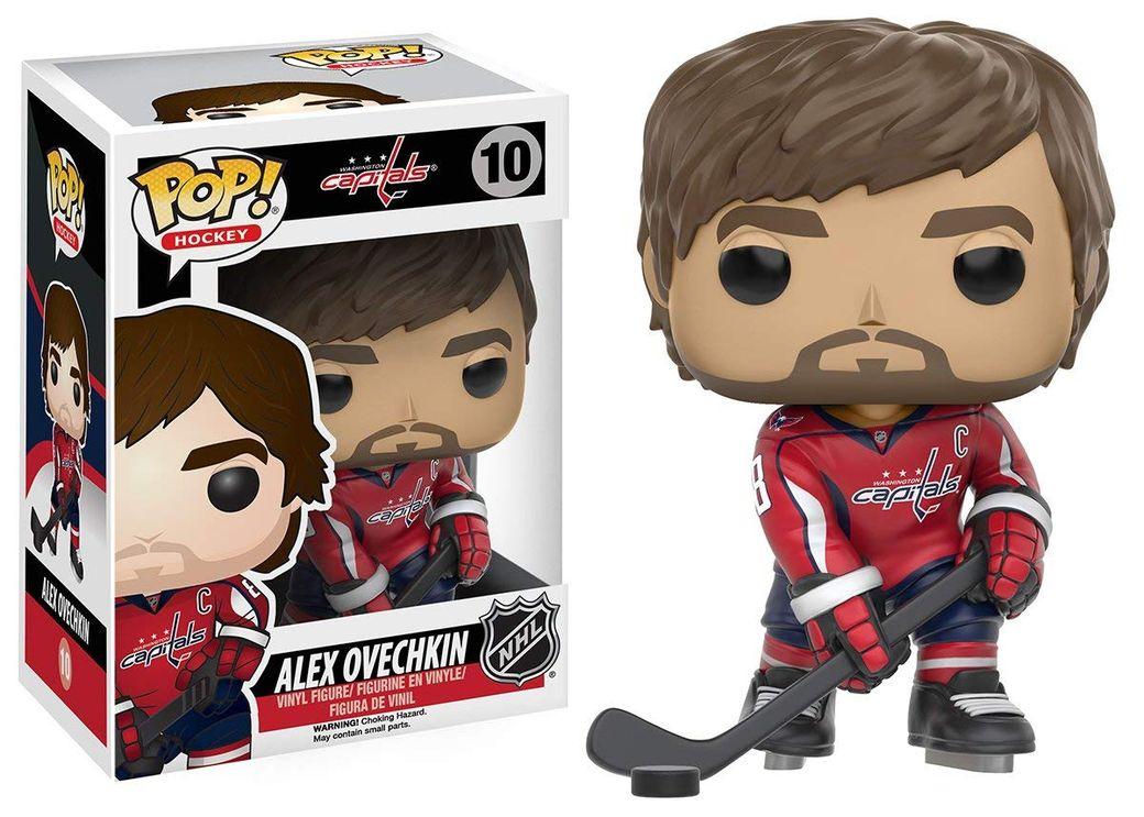 НХЛ выпустила фигурки сизображением Овечкина