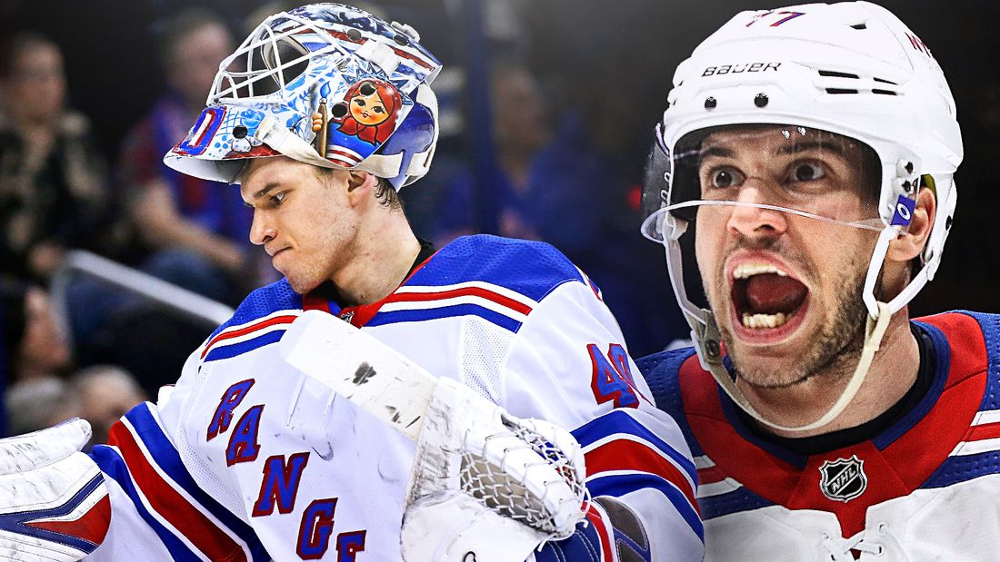 Скандал с русским хоккеистом в США. Рейнджерс выгнали ключевого защитника Деэнджело за конфликт с Георгиевым