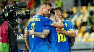 Украина выиграла у Финляндии, одержав первую победу в квалификации ЧМ-2022 после пяти ничьих подряд