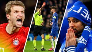 Троллинг фанатов «Челси», бицухи Жиру, ярость Мюллера. Самые яркие кадры разгромной победы «Баварии»