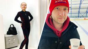 Плющенко подарит айфон 12-летней Титовой, исполнившей на тренировке тройной аксель