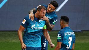 Голы Дзюбы и Оздоева помогли «Зениту» выиграть Суперкубок России. Как это было