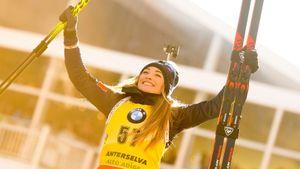 Вирер завоевала золото ЧМпобиатлону виндивидуальной гонке