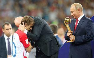 Символическая сборная чемпионата мира. Море хорватов, французов иниодного россиянина