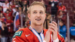 Защитник ЦСКА Саморуков установил рекорд КХЛ. Он забил гол на 51-й секунде первого матча сезона