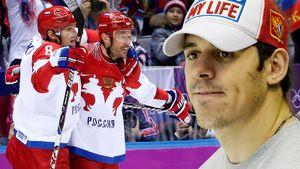 Овечкин — играющий генменеджер «Вашингтона». Он помогает русским в НХЛ, в отличие от Малкина