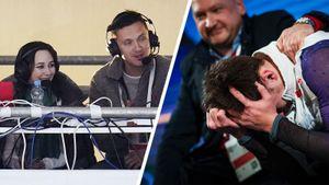 Чемпионские эмоции Алиева, Туктамышева-комментатор, Даниелян под русским флагом. Фото 2-го дня ЧЕ