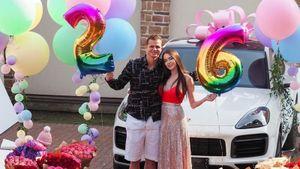 Тарасов подарил Porsche жене надень рождения