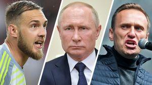 Вратарь «Крыльев» Фролов раскритиковал Путина иРПЦ. Теперь нанего наезжают депутаты, аНавальный— поддерживает