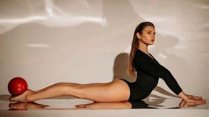 Как русская гимнастка-красавица Александра Солдатова выглядела в детстве: фото