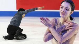 «Черная метка снова в действии». Фанаты уверены, что из-за «проклятия Медведевой» мужчины попадали на Skate America