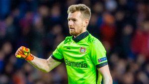 Вратарь Градецки будет капитаном «Байера» в новом сезоне. Он— конкурент Лунева за место в составе
