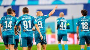 «Зенит» дал отдохнуть основе, новсе равно разгромил «Томь» вКубке России. Дальше— «Ахмат»