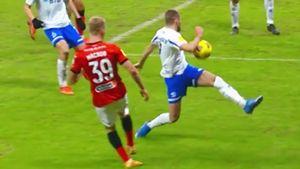 Правильно ли был назначен пенальти в ворота «Динамо» после действий Скопинцева: разбираем эпизод