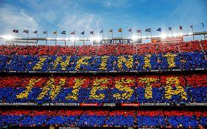 «Барселона» попрощалась сИньестой. Это просто красота