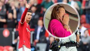 Роналду довел свою маму до слез на трибунах дублем «Ньюкаслу». Хотя обычно Криш запрещает ей ходить на свои матчи