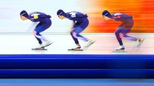 Корейских конькобежцев отстранили иотправили наисправительные работы. Они пили алкоголь набазе