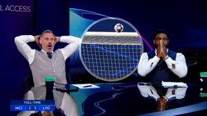 Экс-игроки сборной Англии эмоционально отреагировали на промах Стерлинга, не забившего в пустые ворота: видео