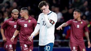 Самый необычный способ исполнить пенальти. Этот удар добил Месси, вернувшегося в сборную Аргентины