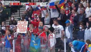 «Россия, Донбасс с тобой!» Как за русских хоккеистов болели в США в финале ЮЧМ-2021 с Канадой: фото
