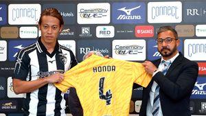 Экс-армеец Хонда покинул «Портимоненси» через неделю после подписания контракта. Клуб не смог его зарегистрировать