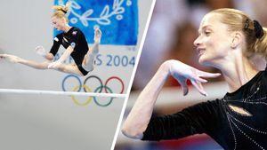 На ОИ-2004 гимнастка Хоркина неожиданно проиграла на брусьях. Ей не хватило 10 секунд, чтобы подготовить снаряд