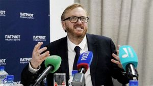 «Олимпийские гомосеки совсем оборзели». Депутат Милонов — о запрете использовать на ОИ «Катюшу» вместо гимна России