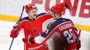 ЦСКА два периода возил чемпиона КХЛ, но чуть не упустил победу. Все решил дубль Капризова
