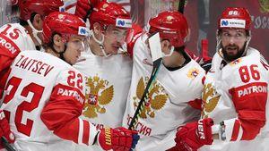 Дубль Кучерова помог россиянам победить швейцарцев, Георгиев пока непропустил наЧМ-2019