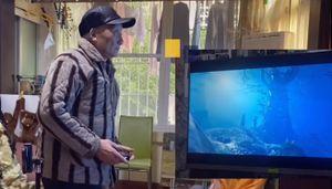 86-летний китаец прошел более 300 игр. Хоррор — его любимый жанр