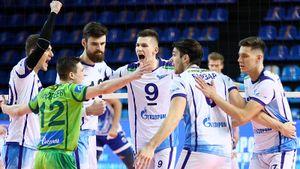 Титулованный «Зенит-Казань» не может выиграть 4 матча подряд. Одноклубники из Петербурга уже на 1-м месте в ЧР