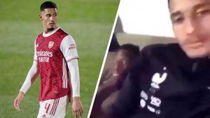 В Англии появился свой Дзюба. Игрок «Арсенала» снял мастурбирующего партнера по сборной и подставился сам
