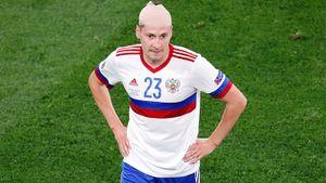 Кузяев получил травму в матче со сборной Бельгии. Его заменил Черышев