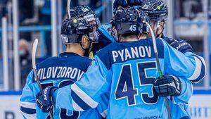 «Сибирь» одержала волевую победу над минским «Динамо»