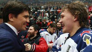 Запускал русских звезд в НХЛ и выдал 3 финала за 4 года. Никитин взял для ЦСКА кубок, но это его не спасло