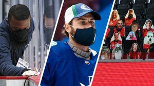 В Америке могут остановить хоккейный сезон до вакцинации всех игроков? В НХЛ проблемы — слишком много заболевших