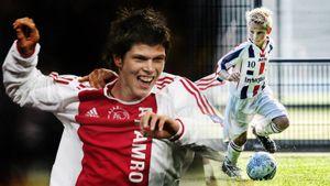 Как выглядели звезды «Аякса» и «Ювентуса», когда Хунтелар последний раз забивал за Амстердам в ЛЧ