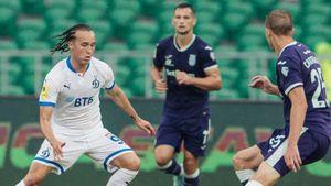 «Уфа» в меньшинстве отыгралась с 0:2, но пропустила гол в самой концовке и уступила «Динамо»