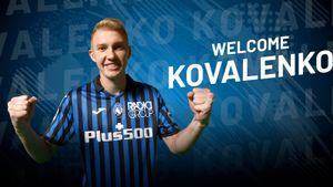 «Аталанта» объявила о переходе футболиста сборной Украины Коваленко