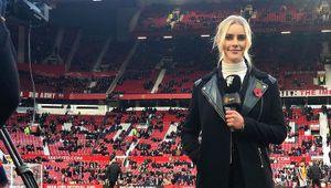 Новая ведущая «Манчестер Юнайтед»: работала моделью нижнего белья ихотела устроиться вдругой клуб