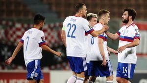 Сборная России победила впервые с сентября, но промучилась тайм с Мальтой: вопросы снял Соболев, сыгравший 10 минут