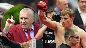 «Настоящий русский богатырь!» Жириновский поздравил Поветкина с победой над Уайтом