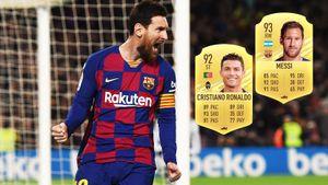 Месси получил рейтинг 93 и обошел Роналду в FIFA 21