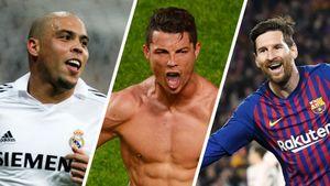 Роналду, Месси и Роналдо — лучшие форварды в истории по версии France Football
