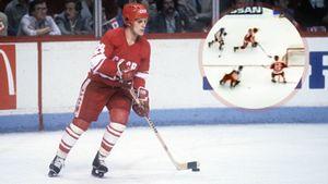 Легендарный гол советского хоккеиста Макарова. Он заставил метаться в воротах Гашека и забил с нулевого угла: видео