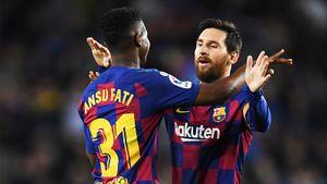 Форвард «Барселоны» стал самым молодым футболистом, сделавшим дубль вЛаЛиге
