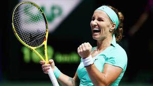 Кузнецова— вфинале супертурнира вСША. Она лишь 153-я вмире, нообыграла лучшую теннисистку года