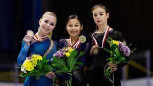 Судьи вытащили звезду из США Лью на первое место в Польше. Бронза и серебро у русских фигуристок