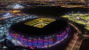 В Катаре прошло официальное открытие третьего стадиона к ЧМ-2022