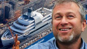Новая яхта Абрамовича стоит 44 миллиарда, вмещает 48 кают и 8 палуб: фото